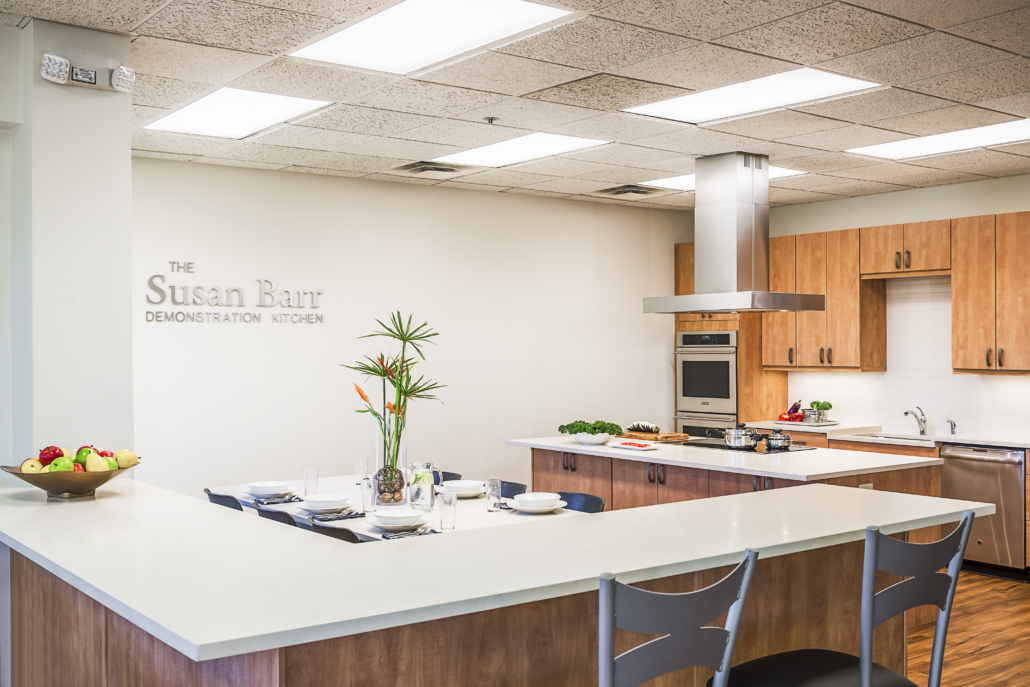 Help Us Launch Our New, State Of The Art Demonstration Kitchen!